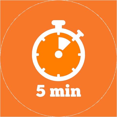 orologio 5min